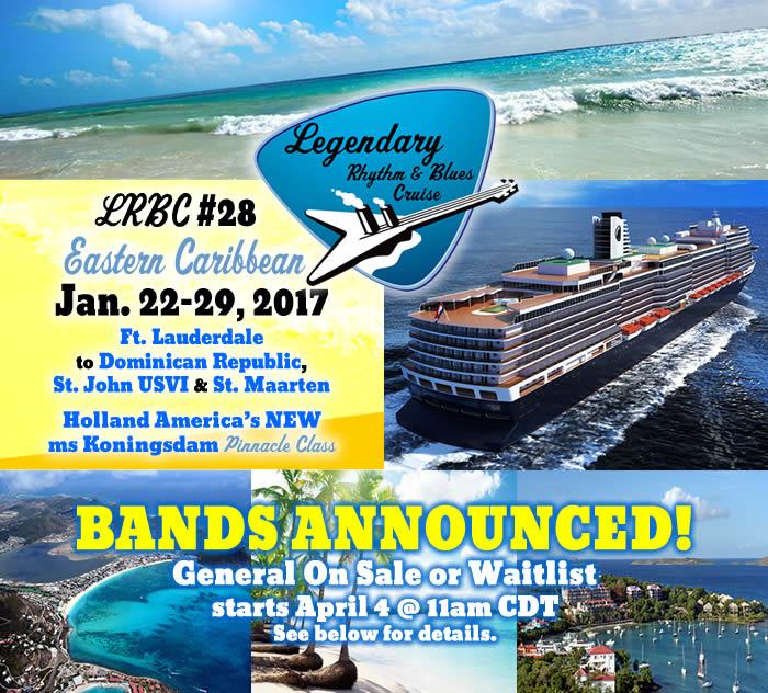 LRBC #28 Eastern Caribbean Bands Announced!