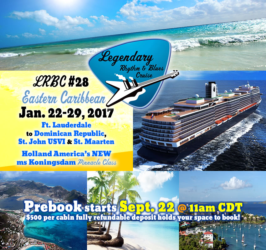 LRBC #28 (Jan. 2017) Prebook Date announced!