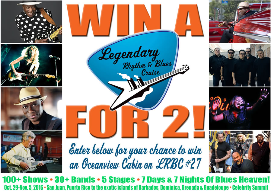 Win A Blues Cruise For 2