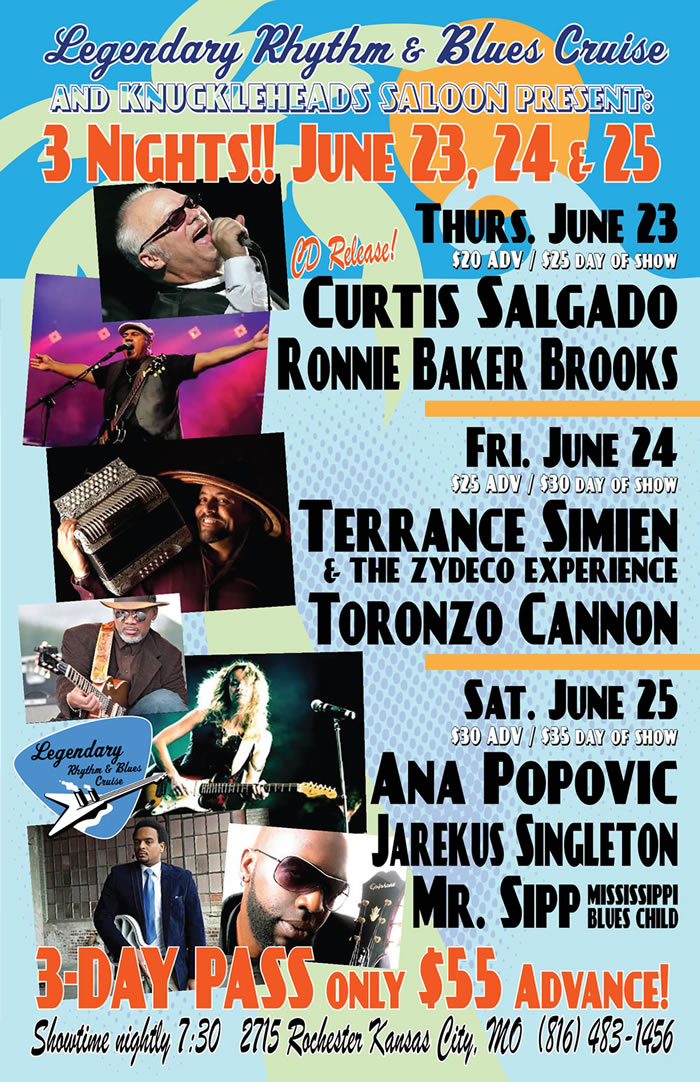 June 23, 24 & 25th in Kansas City – Blues Cruiser Reunion Party!