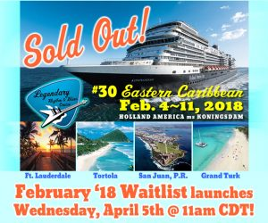 LRBC #30 (Feb. '18) Waitlist launches Wednesday