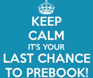 Last Chance To Prebook For LRBC #30!