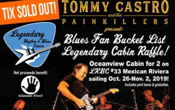 Blues Fan Bucket List Cabin Drawing is May 4th!